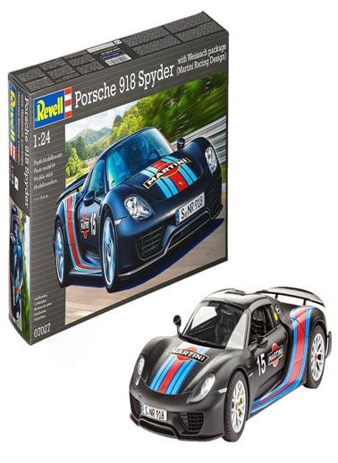 Revell Revell Maket 1:24 Porsche 918 Weissach 7 Renkli